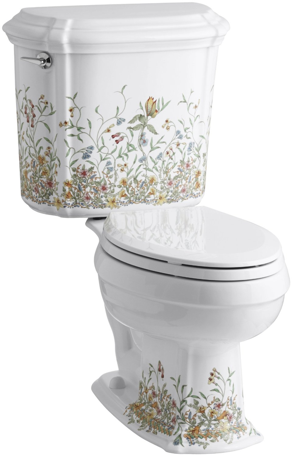 Best toilet on the market reviews - Kohler English Trellis Design Toilet Review