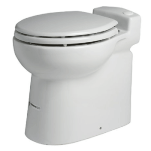 Saniflo 023 SANICOMPACT 48 One Piece Toilet with Macerator Built Into the Base
