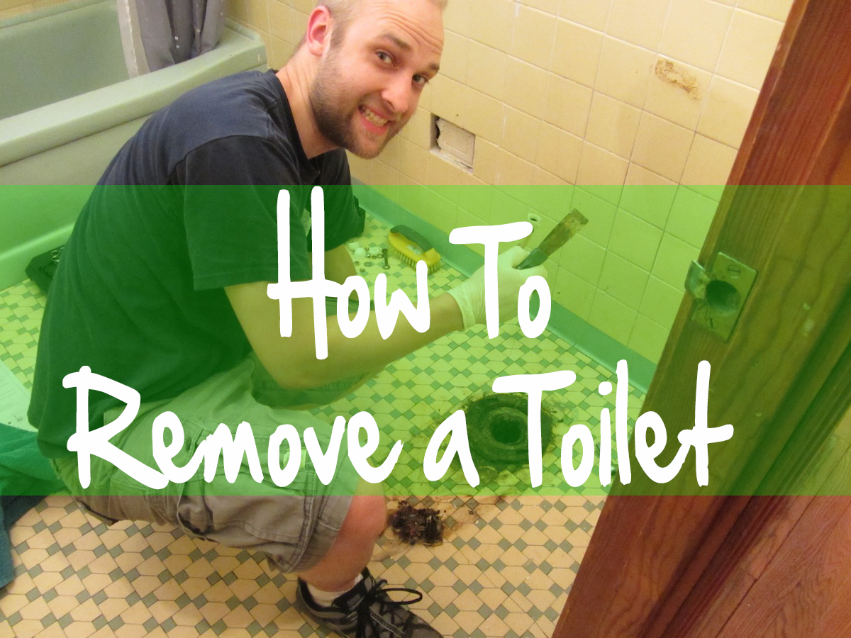 how to remove a toilet the quickest way shop toilet. Black Bedroom Furniture Sets. Home Design Ideas