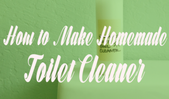 How to make a Homemade Toilet Cleaner