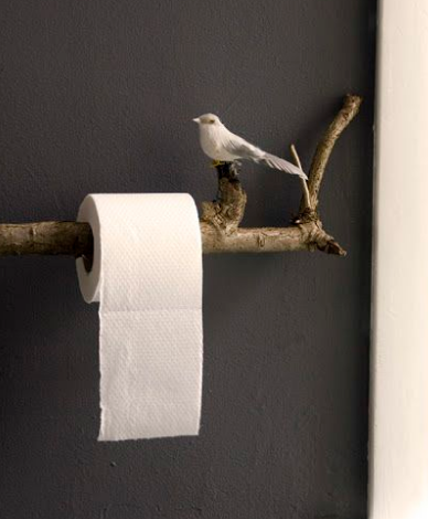 Twig Toilet Roll Holder
