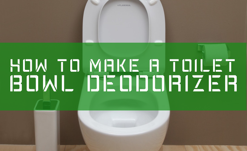 How To Easily Make A Toilet Bowl Deodorizer Shop Toilet