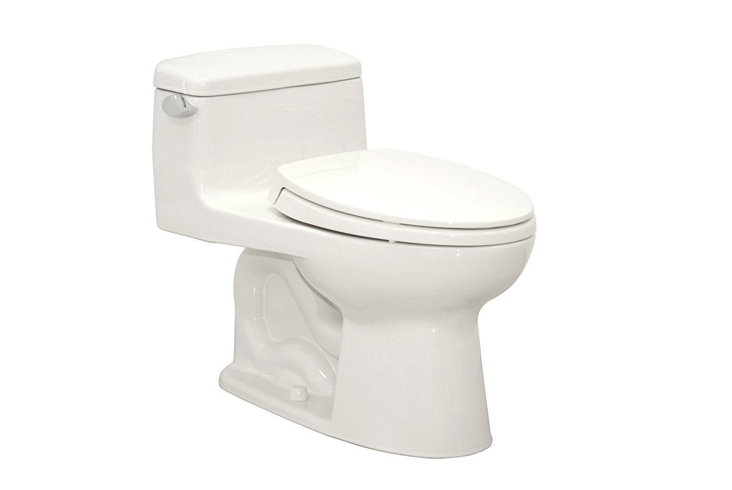 TOTO MS854114SL#01 Ultramax ADA One Piece Toilet, Cotton White