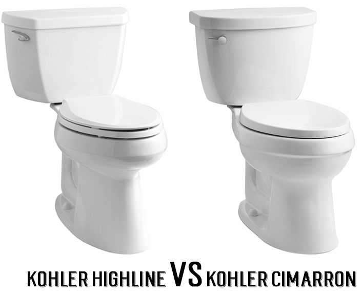Kohler Highline vs Cimarron: Which One Should You Buy? - Shop Toilet