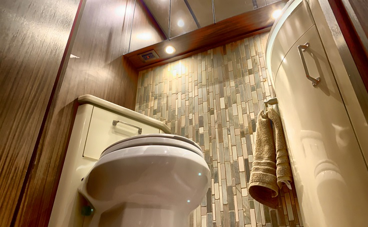Gravity Flush Toilet