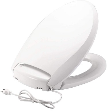 BEMIS Radiance Heated Night Light Toilet Seat