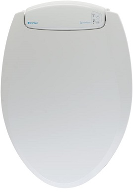 Brondell LumaWarm Heated Nightlight Toilet Seat - Fits Elongated Toilets