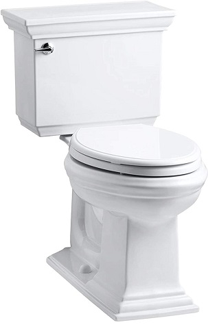 KOHLER K-3817-0 Comfort Height Elongated Toilet