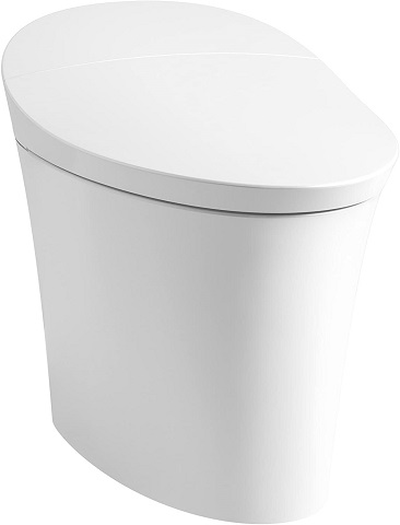 KOHLER K-5401-0 Veil Skirted 1 Piece Toilet