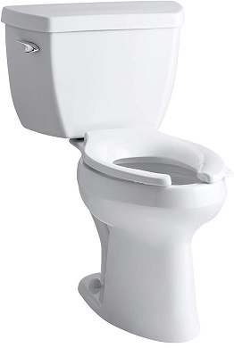 Kohler K-3493-0 Highline Classic Pressure Lite Comfort Height Elongated