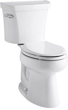Kohler K-3999-0 Highline Comfort Height Two-piece Elongated