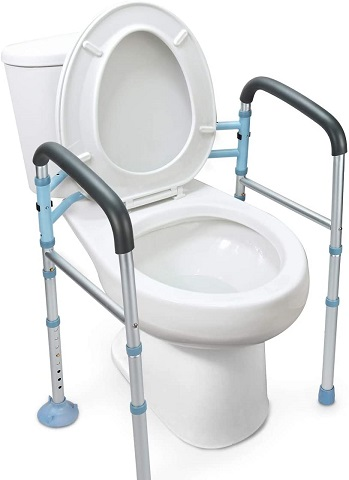 OasisSpace Stand Alone Toilet Safety Rail