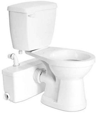 Saniflo SaniPLUS - Macerating Upflush Toilet Kit (with Standard Bowl)