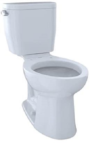 TOTO CST244EF#01 Entrada Elongated Toilet