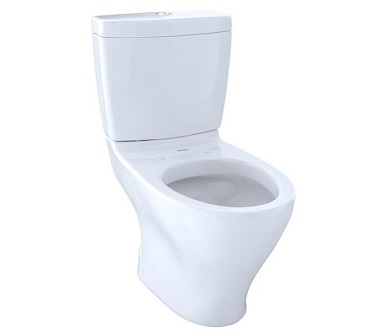 TOTO CST412MF.01 Aquia Dual Flush Elongated Two-Piece Toilet