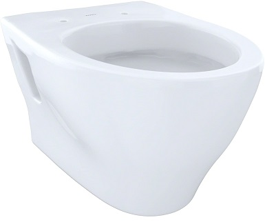 Toto CT418FGNo.01 Aquia Wall-Hung Dual-Flush Toilet