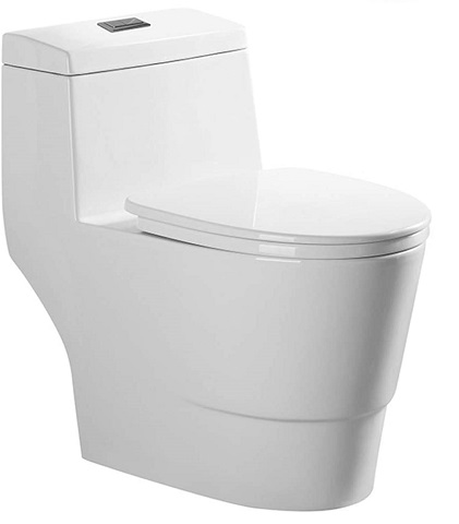 WOODBRIDGE T-0019 Elongated One Piece Toilet