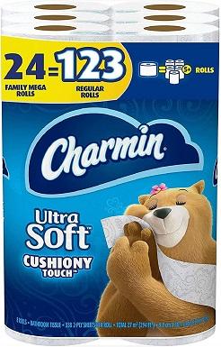 Charmin Ultra Soft Cushiony Touch