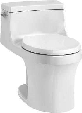 10KOHLER K-4007-0 San Souci Toilet