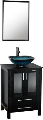 2eclife 24'' Bathroom Vanity